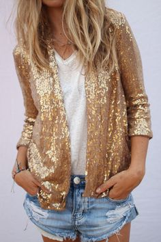 Sequins to make a statement to casual wear                                                                                                                                                     Plus