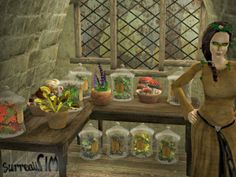 SurrealiSIM Sims 2 downloads: Witchset (part 3) - magical flora