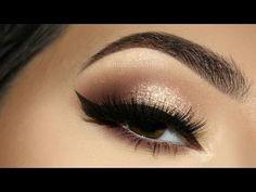 ⭐ Sophisticated Glitter Champagne MakeUp Tutorial | Melissa Samways ⭐ - YouTube