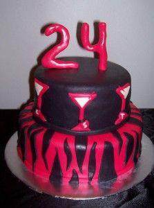 happy birthday cake 24 year