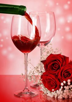 Romantic Wedding Decoration Ideas Have you always dreamed of having a romantic wedding but you don't want to have the same cliché decorations that every other bride has? Happy Birthday Drinks, Happy Birthday Wishes, Romantic Wedding Decor, Wedding Decorations, Wine Glass Images, Power Wallpaper, Valentines Flowers, Wine Bottle Opener, Expensive Wine