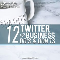12 do's and don'ts for #Twitter   by @DhariLo   #SocialMedia #SMM   Twitter is an excellent network for building brands and getting quick wins in your social media efforts. You can share and curate content…