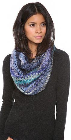 stunning Missoni infinity scarf