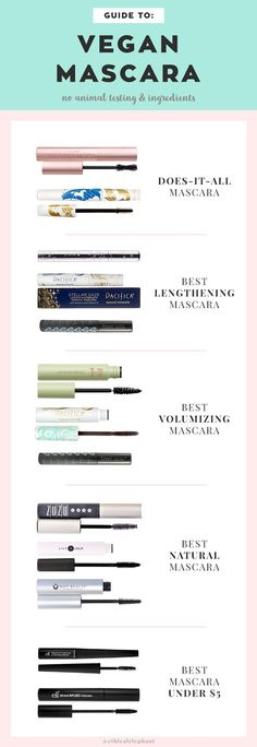 Ultimate Guide to Cruelty-Free and Vegan Mascara (No animal testing and ingredients!)
