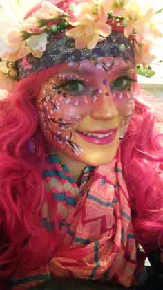 Candy Costumes, Carnival Outfits, Country Fair, Face Painting Designs, Psychedelic Art, Woman Painting, Face Art, Makeup Art, Costumes For Women
