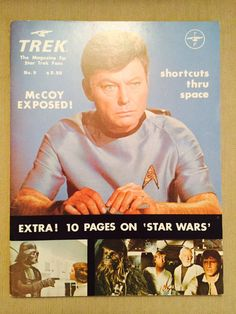 Items similar to Trek Special : The Magazine for Star Trek Fans Issue No. + 10 Page Star Wars Special/Extra (October on Etsy For Stars, Star Trek, Fans, Magazine, Vintage, Starship Enterprise, Magazines, Vintage Comics, Warehouse