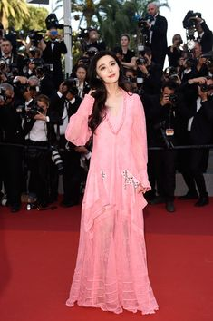 Fan Bingbing attends the 70th Anniversary of the 70th annual Cannes Film Festival at Palais des Festivals on May 23, 2017 in Cannes, France.