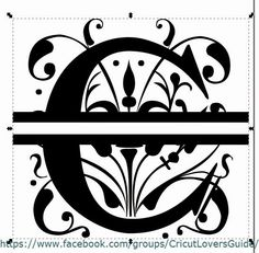 The Non-Crafty Crafter: CRICUT: Using Inkscape to create a split letter monogram