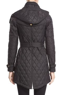 Main Image - Burberry Bellbridge Technical Quilted Parka