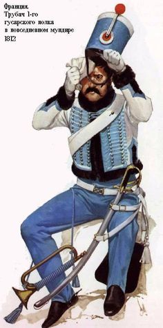 Trumpeter of the 1st Hussars, 1812