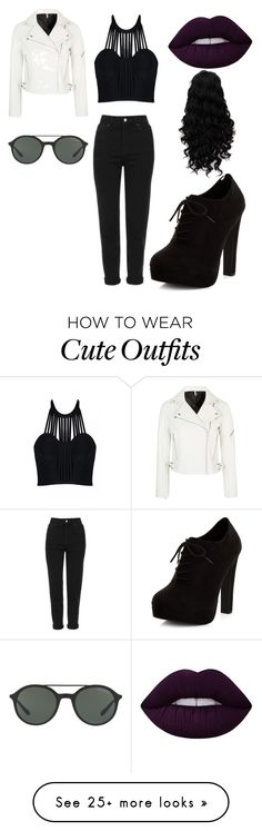 """""""My dream! Cute outfit for school!"""" by gracetesfa on Polyvore featuring Posh Girl, Topshop, New Look, Lime Crime and Giorgio Armani"""