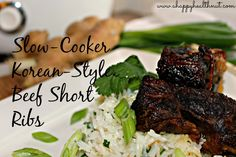 Slow-Cooker Korean-Style Beef Short Ribs