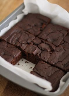 No one will guess that these brownies are grain-free and vegan.