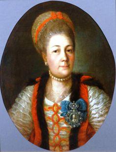 Княжна Анна Алексеевна Гагарина, в замужестве графиня Матюшкина (1722 — 3 мая 1804)