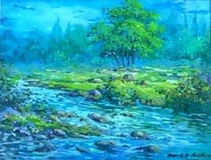 Oil on Canvas by famous Afghan painter Dr. Yousef Asefi