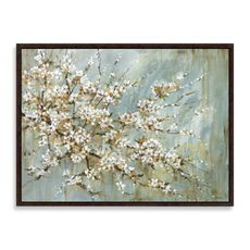 Blossom Wall Art - Bed Bath & Beyond - reminds me of cherry blossoms in d.c. :)