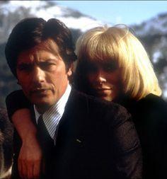 """1974 - """"Les Seins de glace"""", avec Alain Delon et Mireille Darc"""