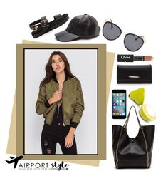 """""""Up In The Air"""" by gojane ❤ liked on Polyvore featuring NYX"""