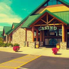 Little River Casino Resort main entrance in Manistee County, Michigan