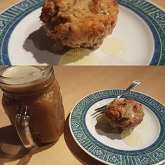 Skipping quark for once and having a banana bread muffin with coldbrew coffee instead  #fitnessfood #fitness #protein #healthy #fitfam #gym #eatclean #cleaneating #foodporn #fit #gains #nutrition #health #lowcarb #fitlife #healthyeating #healthyfood #healthyliving #gainz #recovery #fuel #macros #gymlife #postworkoutmeal #homemade #bananabread #muffin  #banana #coffee #coldbrewcoffee