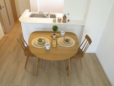1LDKのマンションにナチュラルコーディネート Kitchen Interior, Muji Home, Living Dining Room, Small Apartment Interior, House Interior, Minimalist Home Decor, Small Apartment Kitchen, Japanese Home Decor, Kitchen Decor Collections