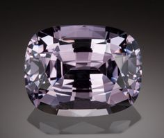 Gems:Faceted, VERY FINE GEMSTONE: NATURAL PURPLE SPINEL - 31.5 CT. with GIA CERT.Burma. ... Image #1