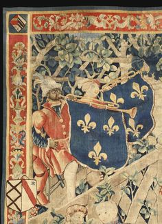 A RARE AND IMPORTANT FRENCH RENAISSANCE TAPESTRY OF LE CAMP DU DRAP D'OR, THE MEETING OF KINGS HENRY VIII AND FRANÇOIS IER CIRCA 1520, PROBABLY TOURNAI: