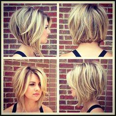 10 Ultra-Mod Short Bob Haarschnitt für Frauen | Frisuren für kurze ... | Einfache Frisuren