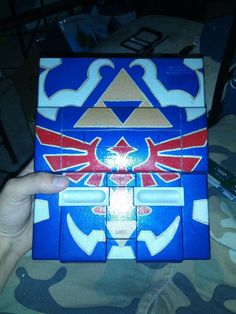 Awesome Zelda hand-painted SNES