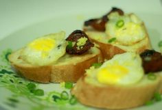 Chorizo and Quail Eggs