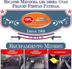 Escapes Mendoza les desea unas felices Fiestas Patrias