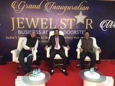 SHANTIBHAI PATEL president GJTCI at the inauguration ceremony of JewelStar Mumbai  Congratulation govind verma ji and his team for the project   #GJTCI #2018 #jewelstar  #shantibhaipatel #shantibhai #mumbai GJTCI #gem&jewellerytradecouncilofindia #gold #diamond #jewelery