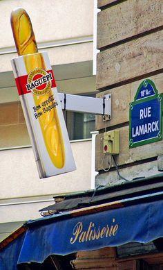 La bonne baguette de la rue Lamarck (Paris 18ème)