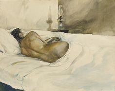 Andrew Wyeth - Spring Evening, 1948.