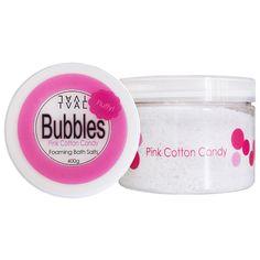 TVÅL Bubbles Foaming Bath Salts Pink Cotton Candy