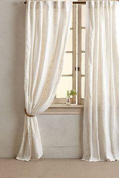 Florentine Curtain #anthropologie