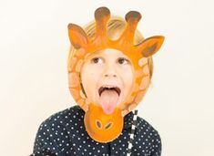 How-Tuesday: Printable Animal Masks on Etsy