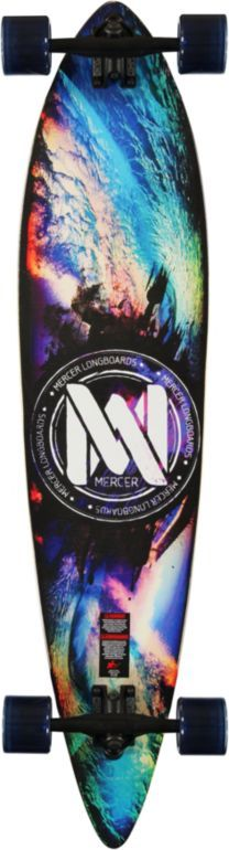 Love the colors. This board is called Mercer Wavelight 42 pintail longboard