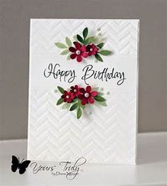 256 best *cards with embossing folders+dies #2 images on Pinterest