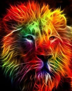 Airbrush lion!!