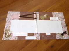 GORGEOUS 12X12 Premade DoublePage by LeapofFaithCreations on Etsy