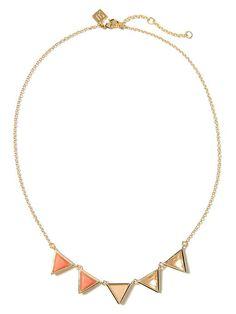 Triangle Delicate Necklace | Banana Republic