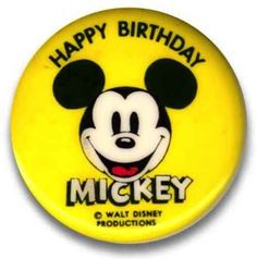 Mickey's official birthday is Nov. 18, 1928.
