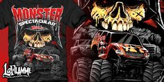 """""""Monster Spectacular"""" t-shirt design by LaFlamme"""