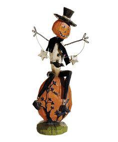 This Pumpkin Man Figurine is perfect! #zulilyfinds