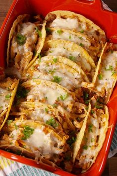 Cheesy Baked Tacos Is The Coolest Way To Serve Tacos To A Crowd  - Delish.com