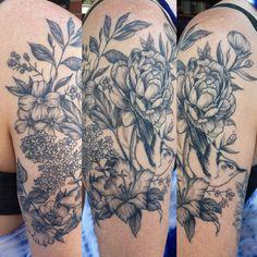 Tattoo artist unknown. Pls let us know if you do!