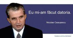 Pentru cei ce nu vor sa ştie!!!! În primăvara lui 1989, Nicolae Ceauşescu a anunţat că România şi-a încheiat plata datoriei şi nu mai este nimănui datoare. Mai mult, Ceauşescu a făcut să se votez...