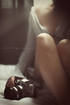 This is how I feel. No face just a photographer. A girl and her camera trying to capture the world.