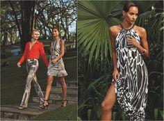 Campanha coleção da marca Iódice, de Waldemar Iódice, para a fast fashion C&A.